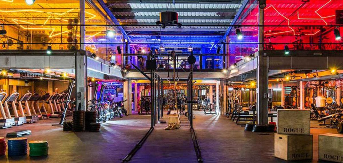 Inside Warehouse Gym Dubai   Outdoor Gyms in Dubai   The Vacation Builder